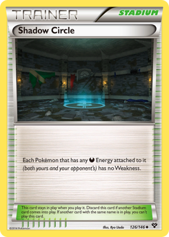 Shadow Circle card for XY