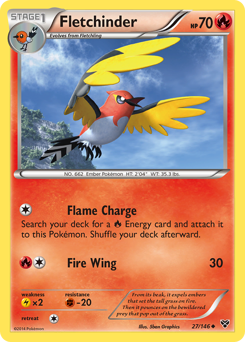 Fletchinder card for XY