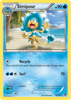 Simipour card for XY