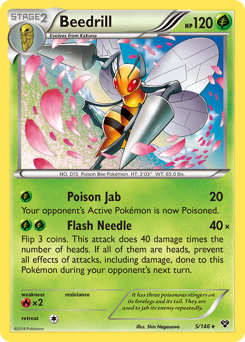 Beedrill card for XY