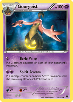 Gourgeist card for XY