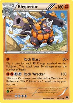 Rhyperior card for XY