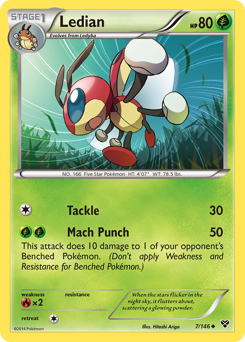 Ledian card for XY