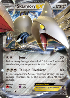 Skarmory-EX card for XY