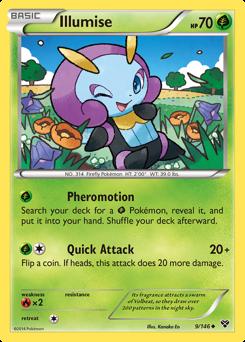 Illumise card for XY
