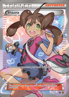 Shauna card for Fates Collide