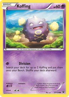 Koffing card for Fates Collide