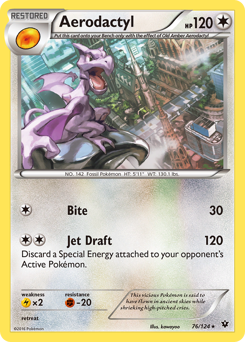 Aerodactyl card for Fates Collide