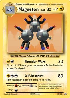 Magneton card for Evolutions