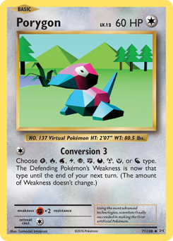 Porygon card for Evolutions