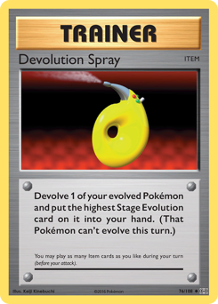 Devolution Spray