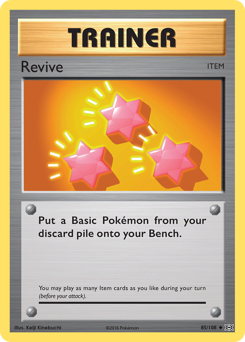 Revive card for Evolutions