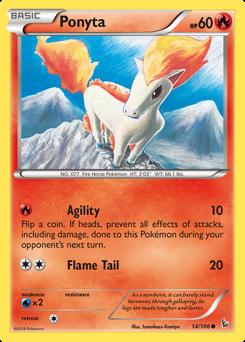 Ponyta card for Flashfire