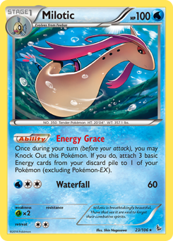 Milotic card for Flashfire