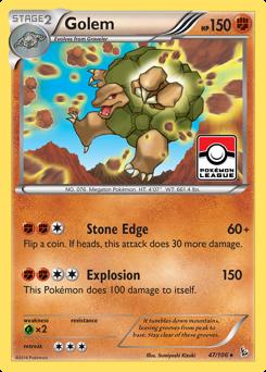 Golem card for Flashfire