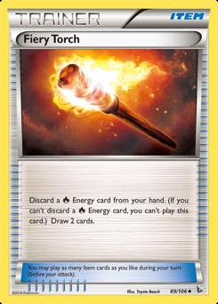 Fiery Torch