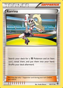 Korrina card for Furious Fists