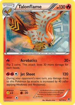 Talonflame card for Phantom Forces