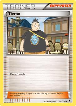 Tierno card for Phantom Forces