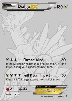 Dialga-EX card for Phantom Forces
