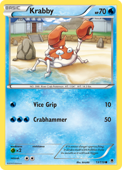 Krabby card for Phantom Forces