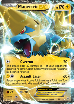 Manectric-EX card for Phantom Forces