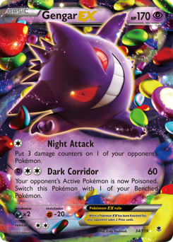 Gengar-EX card for Phantom Forces