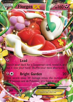 Florges-EX card for Phantom Forces