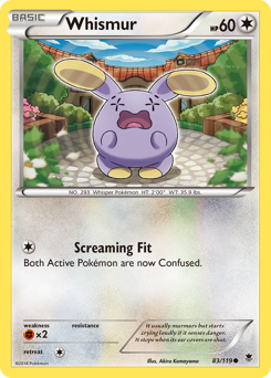 Whismur card for Phantom Forces