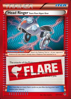 Head Ringer Team Flare Hyper Gear