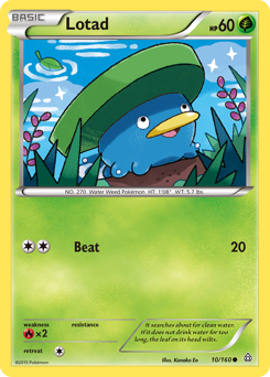 Lotad card for Primal Clash