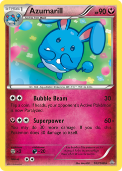 Azumarill card for Primal Clash
