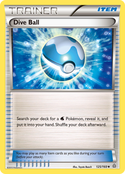 Dive Ball card for Primal Clash