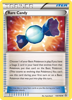 Rare Candy card for Primal Clash