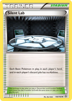 Silent Lab card for Primal Clash