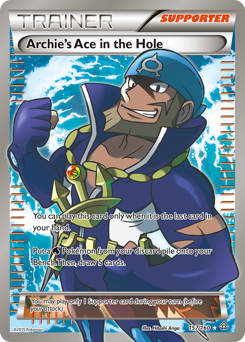 Archie's Ace in the Hole card for Primal Clash
