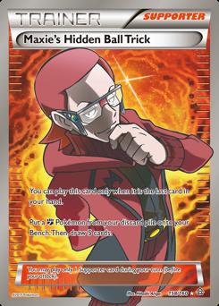 Maxie's Hidden Ball Trick card for Primal Clash