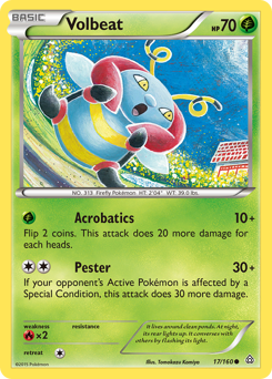 Volbeat card for Primal Clash