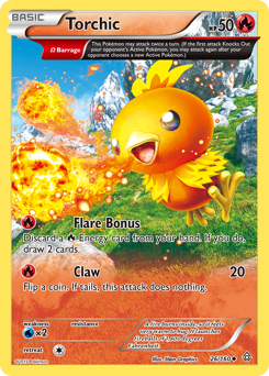 Torchic card for Primal Clash