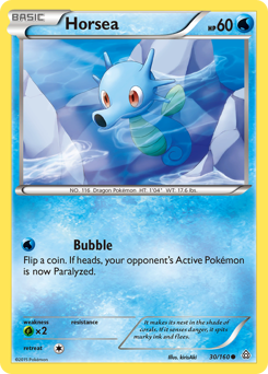 Horsea card for Primal Clash