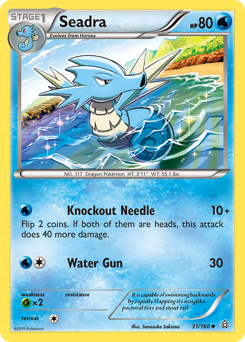 Seadra card for Primal Clash