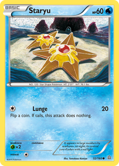 Staryu card for Primal Clash