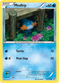Mudkip card for Primal Clash