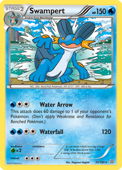 Swampert card for Primal Clash