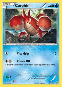 Corphish card for Primal Clash