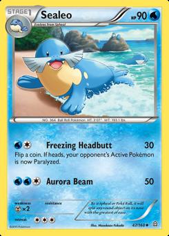 Sealeo card for Primal Clash