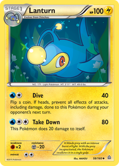 Lanturn card for Primal Clash