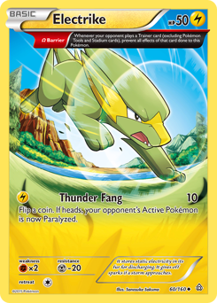 Electrike card for Primal Clash