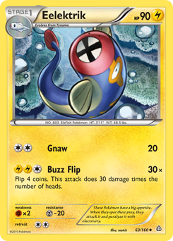 Eelektrik card for Primal Clash