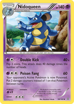 Nidoqueen card for Primal Clash
